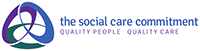 The Social Care Commitment logo